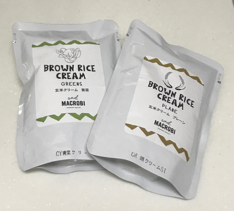 ルナマクロビの玄米クリーム